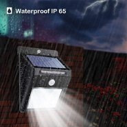 led ip65 exterior wall pack light solar mounted lantern outdoor street garden lights
