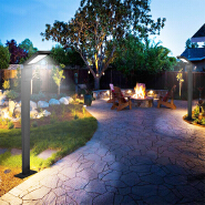 Pathway Lights Outdoor&LED Solar Garden Lights/ Waterproof Solar Landscape Lights for Lawn-Patio-Yard-Garden- Walkway