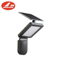 Garden Solar Lights Outdoor 6 Packs Solarpower Stake Lights Black or Gray-Color Walkway Lawn Lamp