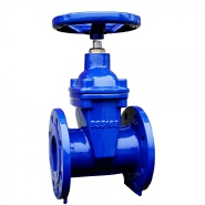6 inch Non-Rising Stem Resilient Seated Ductile Iron Handwheel Flanged Gate Valve