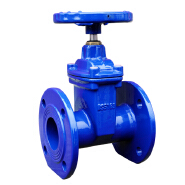COVNA DN200 8 inch Non-Rising Stem Resilient Seated Ductile Iron Handwheel Flanged Gate Valve