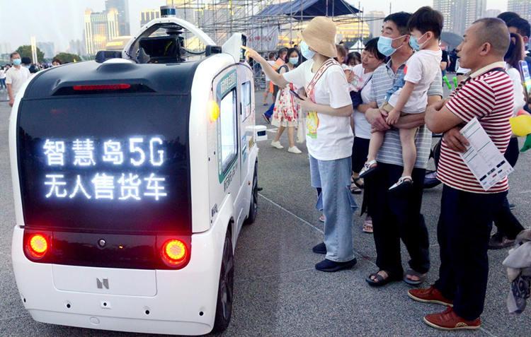 'China boost' drives 5G usage