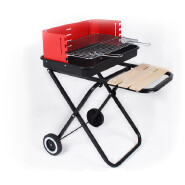 Folding Cart Camping Outdoor BBQ grills Barbeque Patio Square Bbq Grill With Foldable Legs