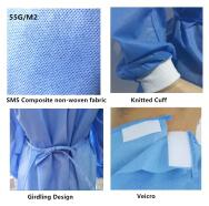 Dalian Rongbang Medical Healthy Devices Co.,Ltd Medical Protective Clothes