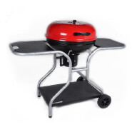 Outdoor garden backyard apple bbq grills portable kettle barbecue charcoal bbq grill