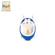 Amazon wholesale Cute Cartoon Baby kids trainer seat Boy's potty urinal with Whirling Target