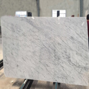 Quality Assurance Carrara White Marble Table Top Countertop