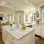 new designs white marble kitchen countertop price