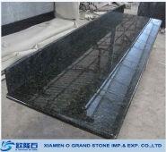 Black backsplash granite countertop Chinese black granite countertop