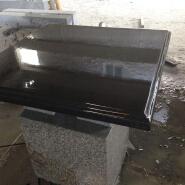 Hot Black Sale Basalt Floor Mongolia Black Granite Tile