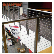 Wall-mounted stainless steel cable railing and balcony rope safety fence accessories