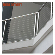 Simple stainless steel cable railing wholesale price