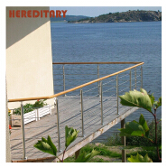 Stainless steel balcony railing and balcony corridor balustrade by the sea