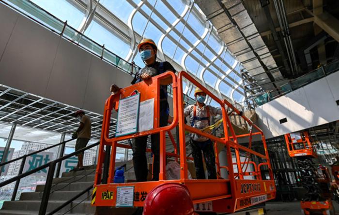 2022 Winter Olympics facilities construction underway