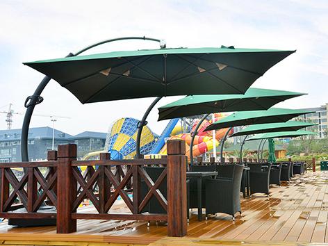 Outdoor Garden Sunshade Umbrella 3*4m for sale
