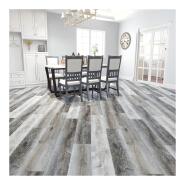 Wood pattern vinyl flooing pvc floor tiles water resistant click plank flooring
