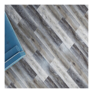 Vinyl click system 4mm plastic flooring pvc vinly wood floor tiles