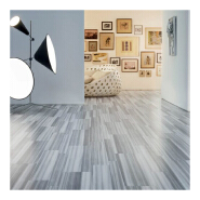 Commercial Wooden Lvt Pvc Vinyl Flooring 6mm thickness with loose lay thick