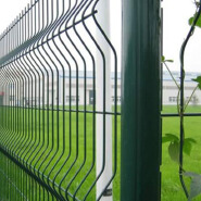Triangle panels bending fence netting security panel bending fence