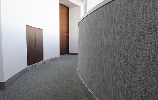Waterproof Moisture Proof PVC Woven wall covering for sale