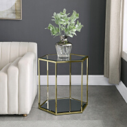 Living Room Furniture fashionable glass coffee table modern coffee table