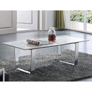 Modern design modern living room furniture stainless steel gold marble center rectangle coffee table