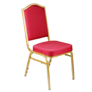 Whole sale cheaper Industrial Red Dining Chair Luxury Living Room Furniture Metal Leg Velvet Dining Chair for wedding banquet