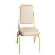 Modern industrial High back Dining Chair Luxury Living Room Furniture Metal Leg Velvet Dining Chair for wedding banquet