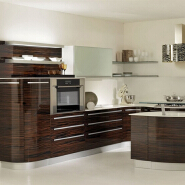 PVC Kitchen cabinet designs furniture china kitchen cabinet