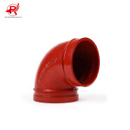 Ul Fm welding pipe fitting 90 degree grooved cast iron elbow price