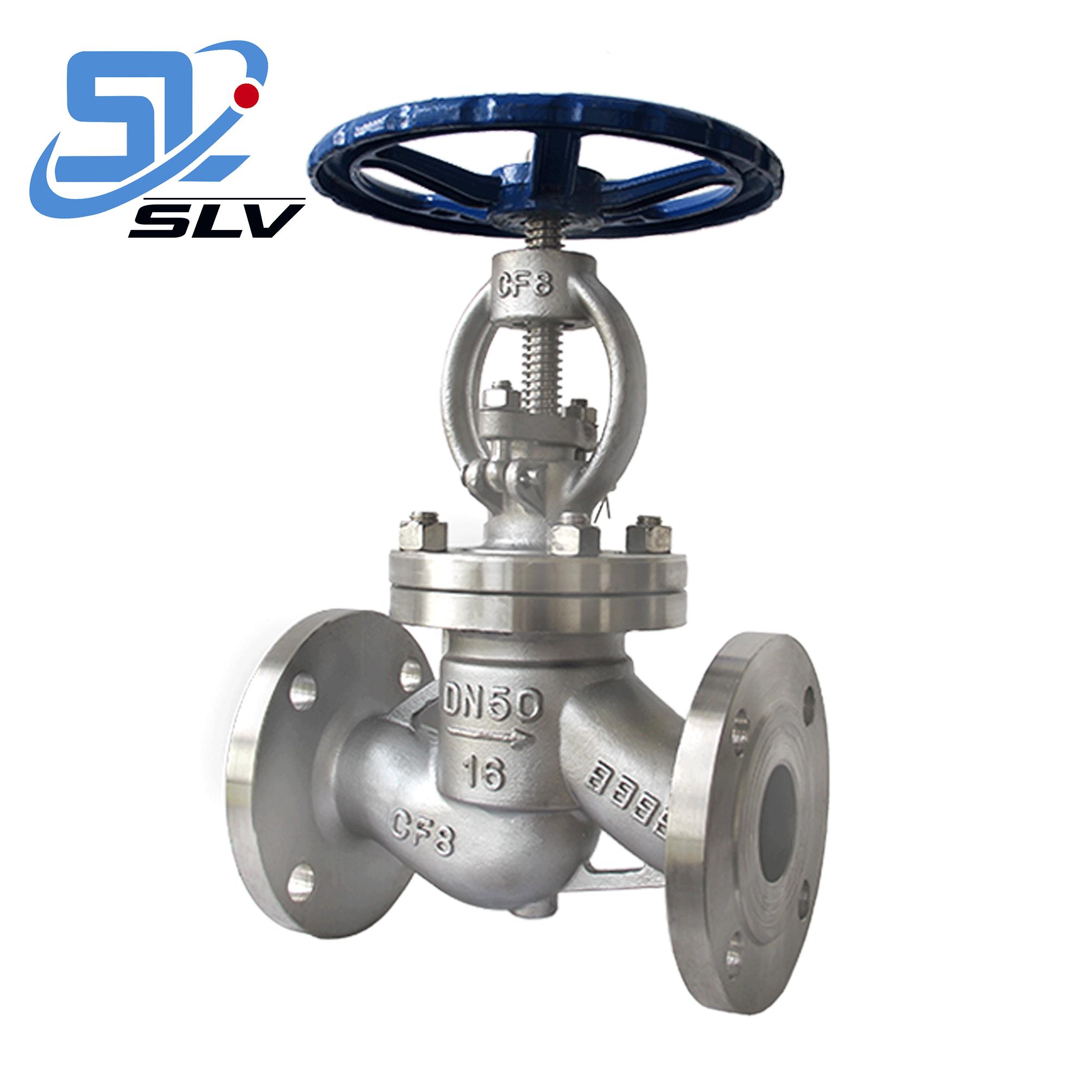 Cheap Price Anti-rusting SS 304 Stainless Steel Flange Globe Valve