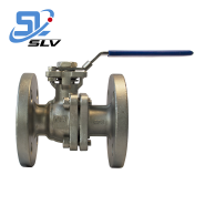 1 PN16 PN25 PN63 Factory Price Industrial WCB Stainless Steel Manual Flange Ball Valve
