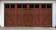 Newest Products Hot Quality Customization Sunproof/water proof/Wooden garage door WGD-1