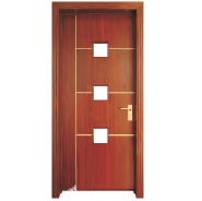 Best-Selling Best Quality Comfortable Design MDF door- Glass Series (PVD-008)