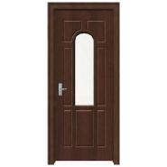 Sales Promotion High Quality Original Design MDF door- modern flush design,glass door, interior door(PVD-120)