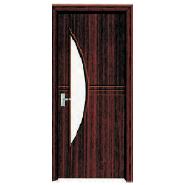 Advertising Promotion Super Quality Unique Design MDF door- modern flush design,glass door, interior door (PVD-119)