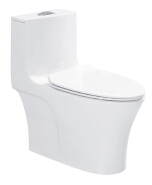 Factory processing cheap Peeping Chinese toilet one piece wc toilet set