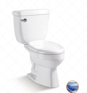 Siphonic two-piece toilet ST-101
