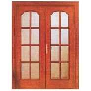 Opening Sale Samples Are Available Special Design MDF door- modern flush design,glass door, interior door (PVD-160)