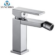 SKL-1486 Deck mounted single lever bathroom bidet faucet chrome bidet mixer faucet