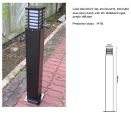 ALLIANCE LIGHTING MANUFACTURING SDN.BHD. Solar Power Pillar Lamps