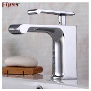 Fyeer single lever bathroom brass basin faucet