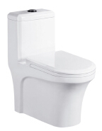 The hottest product in Asia siphon Peeping Chinese toilet one piece toilet