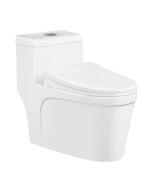 Hot engineering bathroom siphon Peeping Chinese toilet one piece toilet
