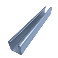 c channel steel Unistrut channel size/Strut slotted c channel steel price manufacturer