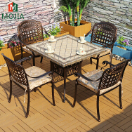 Guangxi Mojia E-Commerce Co., Ltd. Outdoor Iron Table & Chair