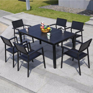 Foshan Tanfly Furniture Co.,Ltd Outdoor Solid Wood Table & Chair