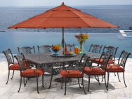 WUJIANG KAILIAN OUTSIDE FURNITURE CO.,LTD. Outdoor Iron Table & Chair