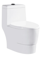 Chinese ceramic super spiral siphon one piece toilet