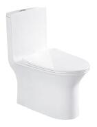 elegant design white glazed ceramic super spiral Peeping Chinese toilet one piece toilet